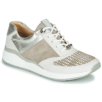 Shoes Women Low top trainers JB Martin 1KALIO Beige / White / Silver