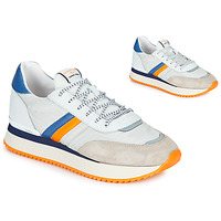 Shoes Men Low top trainers Serafini TORINO White / Grey / Orange