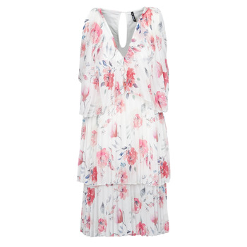 material Women Short Dresses Smash VOTARY Pink