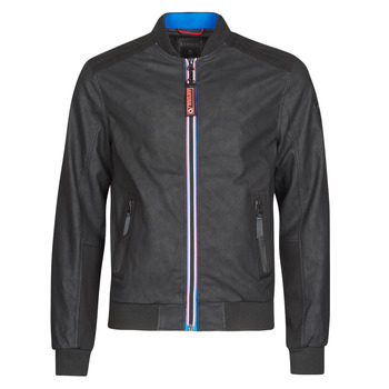 material Men Leather jackets / Imitation leather Kaporal COOL Black
