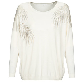 material Women jumpers Ikks BQ18165-12 White