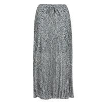 material Women Skirts Ikks BQ27075-30 Black / White