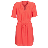 material Women Short Dresses Ikks BQ30335-36 Orange
