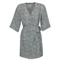 material Women Short Dresses Ikks BQ30415-03 Black / White