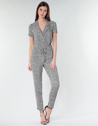 material Women Jumpsuits / Dungarees Ikks BQ32045-03 Black / White