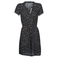 material Women Short Dresses One Step ROSA Black