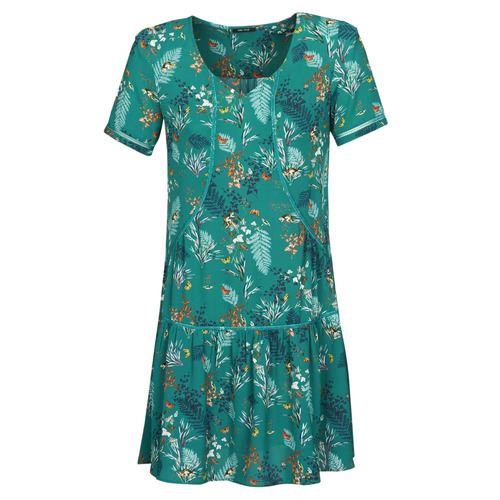 One Step Renato Green Fast Delivery Spartoo Europe Material Short Dresses Women 132 00