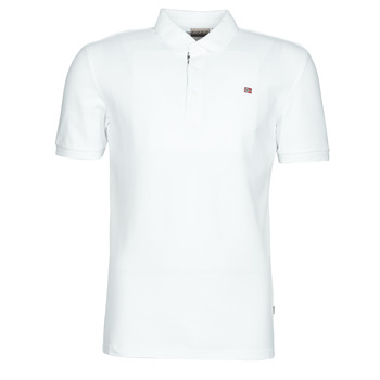 material Men short-sleeved polo shirts Napapijri EOLANOS White