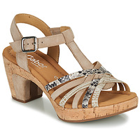 Shoes Women Sandals Gabor KARIKOU Beige / Python