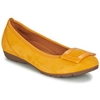 Shoes Women Ballerinas Gabor KASTIPON Yellow