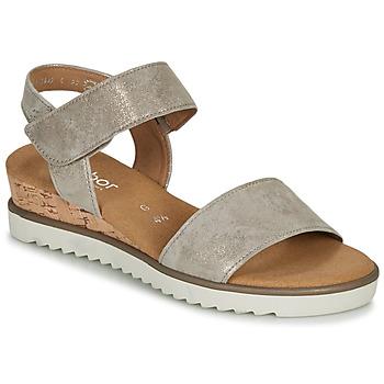 Shoes Women Sandals Gabor KARIBITOU Gold