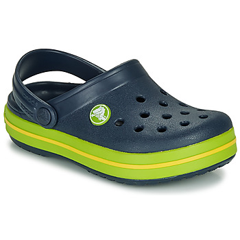 Shoes Children Clogs Crocs Crocband Clog K Marine / Green