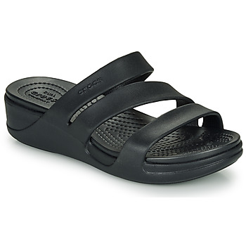 Shoes Women Mules Crocs CROCS MONTEREY WEDGE W Black