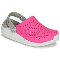 Shoes Girl Clogs Crocs LITERIDE CLOG K Pink / White