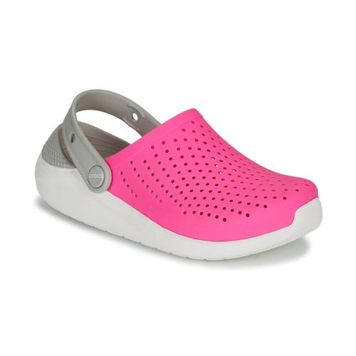Crocs LITERIDE CLOG K Pink / White