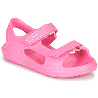Shoes Girl Sports sandals Crocs SWIFTWATER EXPEDITION SANDAL K Pink