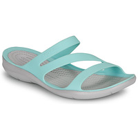 Shoes Women Sandals Crocs SWIFTWATER SANDAL W Blue / White