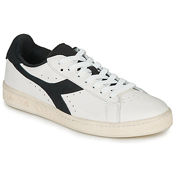 Shoes Low top trainers Diadora GAME L LOW USED White / Black