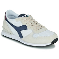 Shoes Low top trainers Diadora CAMARO Beige / Blue