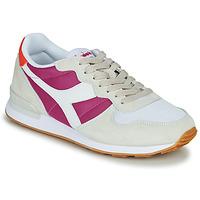 Shoes Women Low top trainers Diadora CAMARO Beige / Pink