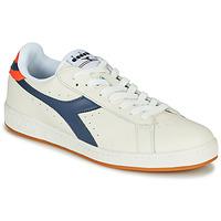 Shoes Men Low top trainers Diadora GAME L LOW Beige / Blue