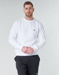 material Men sweaters Calvin Klein Jeans CK ESSENTIAL REG CN White
