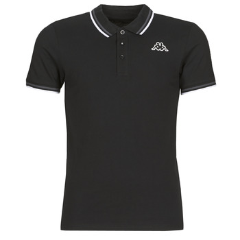 material Men short-sleeved polo shirts Kappa ESMO Black