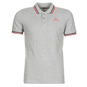 material Men short-sleeved polo shirts Kappa ESMO Grey /  black / Red