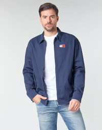 material Men Blouses Tommy Jeans TJM COTTON JACKET Marine