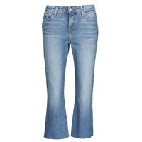 material Women straight jeans Tommy Jeans KATIE CROP FLARE Blue / Medium