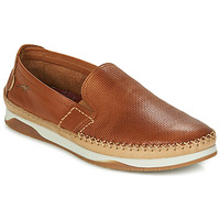 Shoes Men Slip ons Fluchos KENDAL Brown / Beige