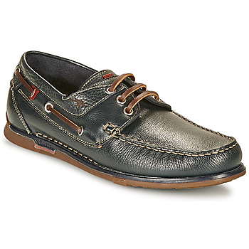 Shoes Men Boat shoes Fluchos POSEIDON Marine / Brown