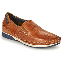 Shoes Men Slip ons Fluchos JAMES Brown / Marine