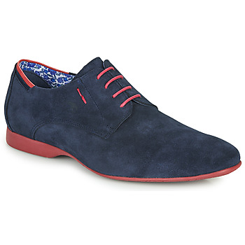 Shoes Men Derby shoes Fluchos VESUBIO Marine / Red