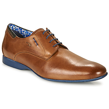 Shoes Men Derby shoes Fluchos VESUBIO Brown / Blue