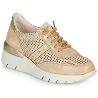 Shoes Women Low top trainers Hispanitas RUTH Pink / Gold / White