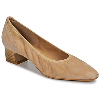 Shoes Women Court shoes Perlato 11129-VELOURS-MISIA Beige