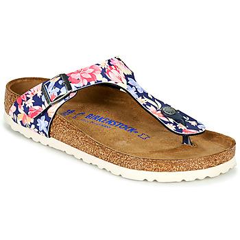 Shoes Women Flip flops Birkenstock GIZEH SFB Multicoloured