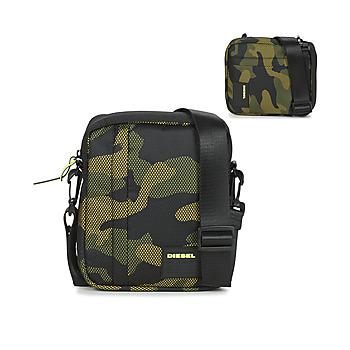 Bags Men Pouches / Clutches Diesel ODERZO Black / Green