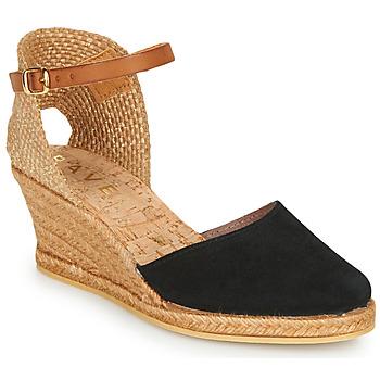 Shoes Women Espadrilles Ravel ETNA II Black