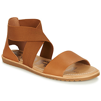 Shoes Women Sandals Sorel ELLA SANDAL Brown