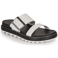 Shoes Women Sandals Sorel ROAMING BUCKLE SLIDE White