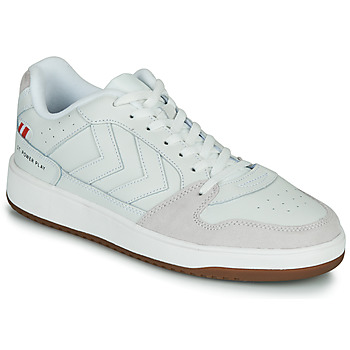 Shoes Men Low top trainers Hummel ST. POWER PLAY White