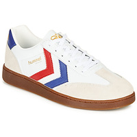 Shoes Men Low top trainers Hummel VM78 CPH LEATHER White / Red / Blue