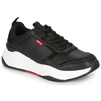 Shoes Women Low top trainers Levi's WEST Black