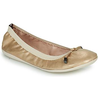 Shoes Women Ballerinas Les Petites Bombes AVA Gold
