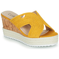 Shoes Women Mules Les Petites Bombes LIDY Mustard