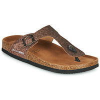 Shoes Women Flip flops Les Petites Bombes TANIA Bronze