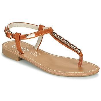 Shoes Women Sandals Les Petites Bombes MANEL Camel
