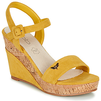 Shoes Women Sandals Les Petites Bombes MIA Mustard